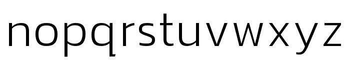hailey-Light Font LOWERCASE