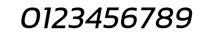 hailey Medium Italic Font OTHER CHARS