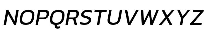 hailey Medium Italic Font UPPERCASE