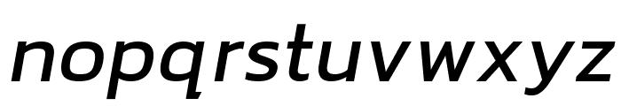 hailey Medium Italic Font LOWERCASE