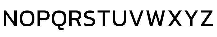 hailey-Medium Font UPPERCASE