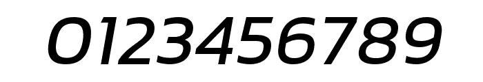 hailey-MediumItalic Font OTHER CHARS