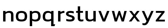 hailey-Medium Font LOWERCASE