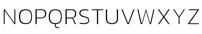 hailey-Thin Font UPPERCASE