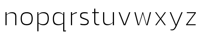 hailey-Thin Font LOWERCASE