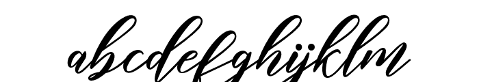 halley Font LOWERCASE
