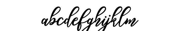 hamster Font LOWERCASE