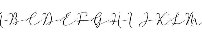 hello hanna Font UPPERCASE