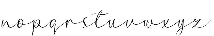 hello hanna Font LOWERCASE