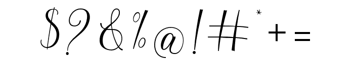 hellokelly Font OTHER CHARS