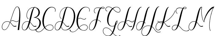 hellokelly Font UPPERCASE