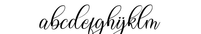 hellokelly Font LOWERCASE