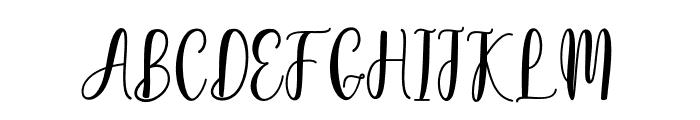 hellostruggle Font UPPERCASE