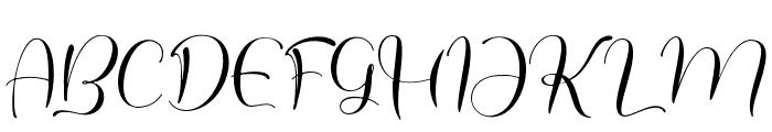 historylove Font UPPERCASE