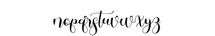 historylove Font LOWERCASE