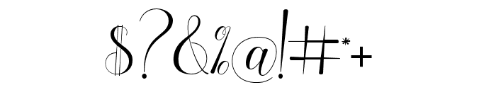 holylove Font OTHER CHARS