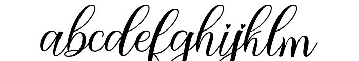 holylove Font LOWERCASE