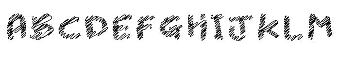 iScribble Regular Font UPPERCASE