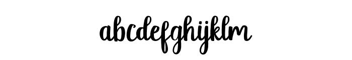 jellyfish Regular Font LOWERCASE