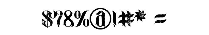 jimny Grunge Font OTHER CHARS