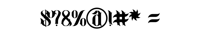 jimny Regular Font OTHER CHARS