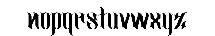 jimny Regular Font LOWERCASE