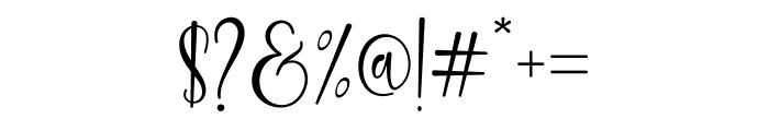 keysha Font OTHER CHARS