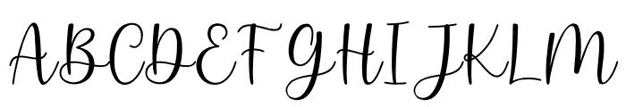 keysha Font UPPERCASE