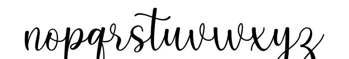 keysha Font LOWERCASE