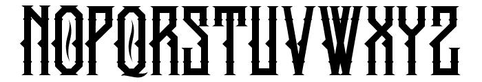 kingarmored-Regular Font UPPERCASE