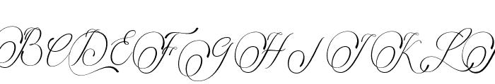 lintingdaon Font UPPERCASE
