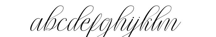 lintingdaon Font LOWERCASE
