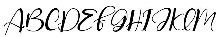 love lovely Italic Font UPPERCASE