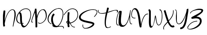 love lovely Font UPPERCASE