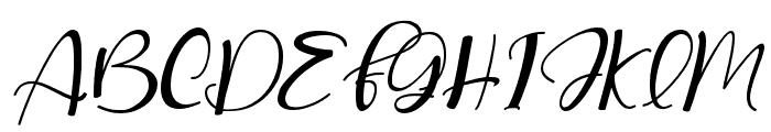 lovelovely-Italic Font UPPERCASE