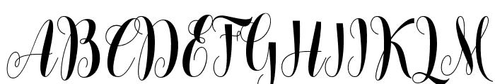 lovelyhome Font UPPERCASE