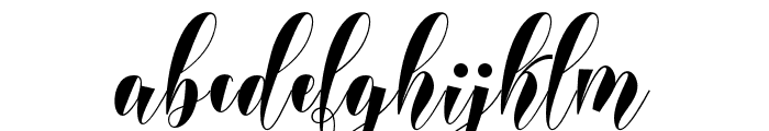 lovelyhome Font LOWERCASE