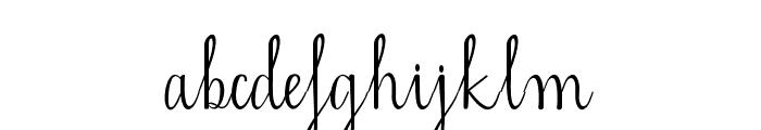 mahdalena Font LOWERCASE