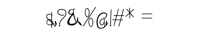 maliali Font OTHER CHARS