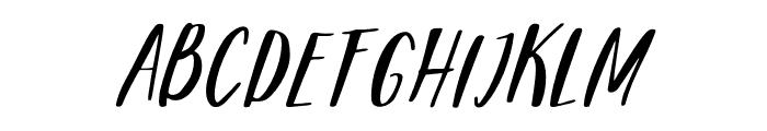 mandarina Regular Font UPPERCASE