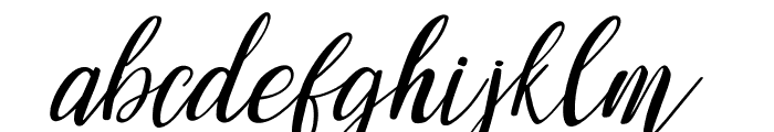 mandarina Regular Font LOWERCASE