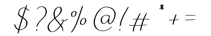 mazurski Font OTHER CHARS