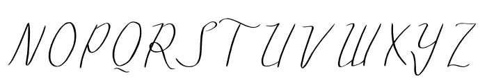 mazurski Font UPPERCASE