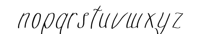 mazurski Font LOWERCASE