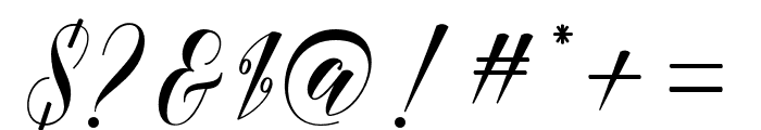 medinascript Font OTHER CHARS