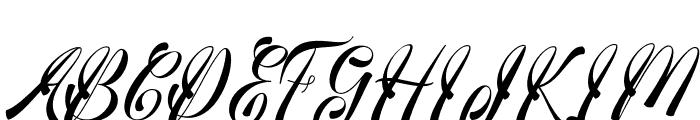 medinascript Font UPPERCASE
