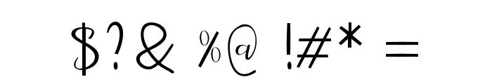meidina-mahyud Font OTHER CHARS