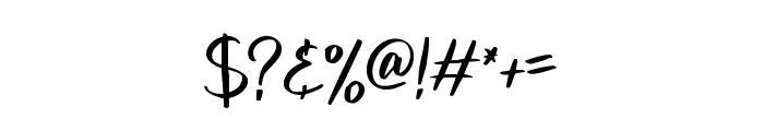 melanies Regular Font OTHER CHARS