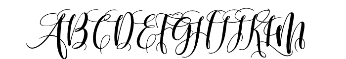 mightyheart Font UPPERCASE