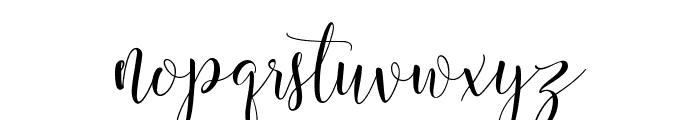 mightyheart Font LOWERCASE